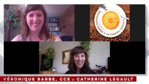 2020_EP12_Pause-café entre monteurs-ses - Veronique Barbe CCE et Catherine Legault