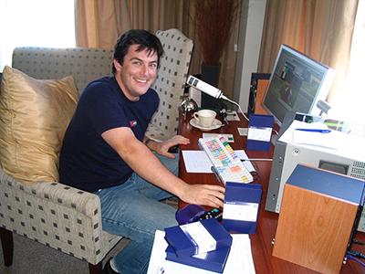 Jonathan's portable setup