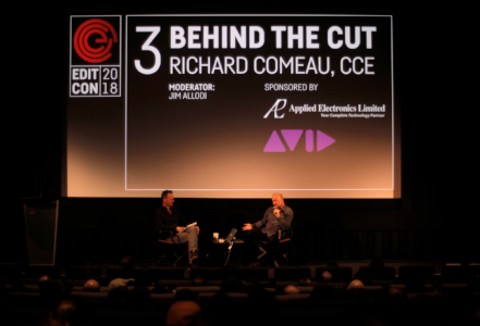 Episode 003: Behind the cut with Richard Comeau, CCE, Editcon 2018