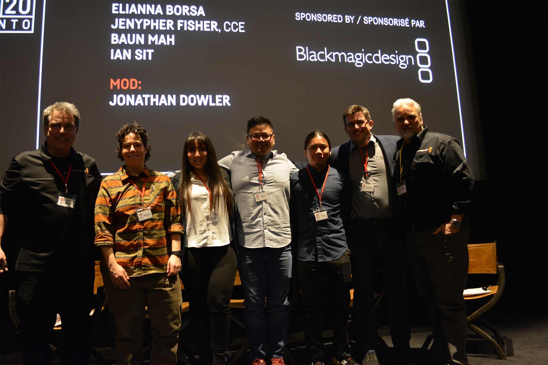 2020 EditCon Panel 1 no script no problem on stage at TIFF
