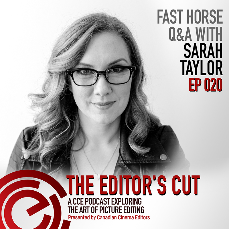 Episode 020: FAST HORSE Q&A with Sarah Taylor