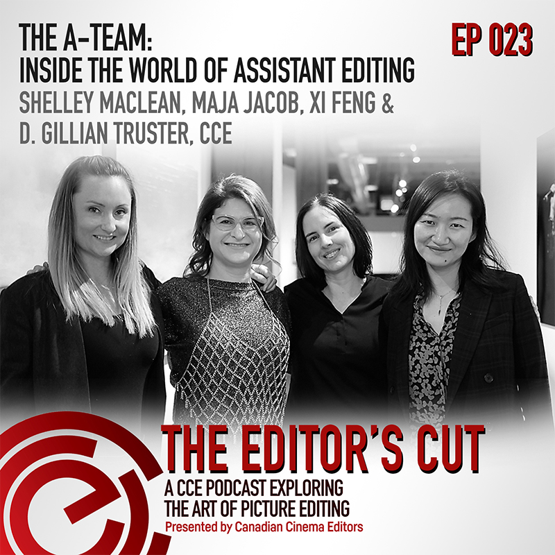 Episode 023: The A-Team: Inside the World of Assistant Editing