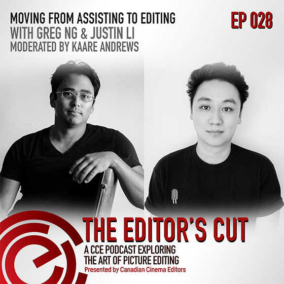 Episode 028: Moving from Assisting to Editing