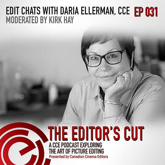 Episode 031: Edit Chats with Daria Ellerman, CCE