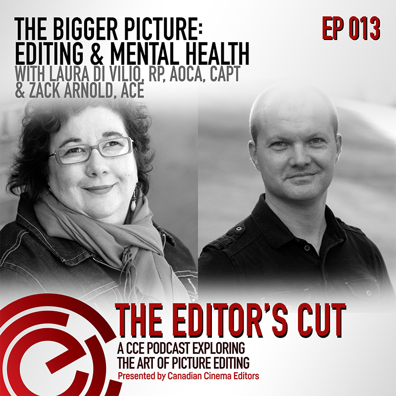 Episode 013: The Bigger Picture: Editing & Mental Healthon Animation Editingson