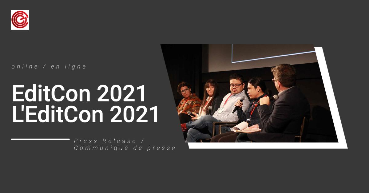 EditCon 2021 Press Release
