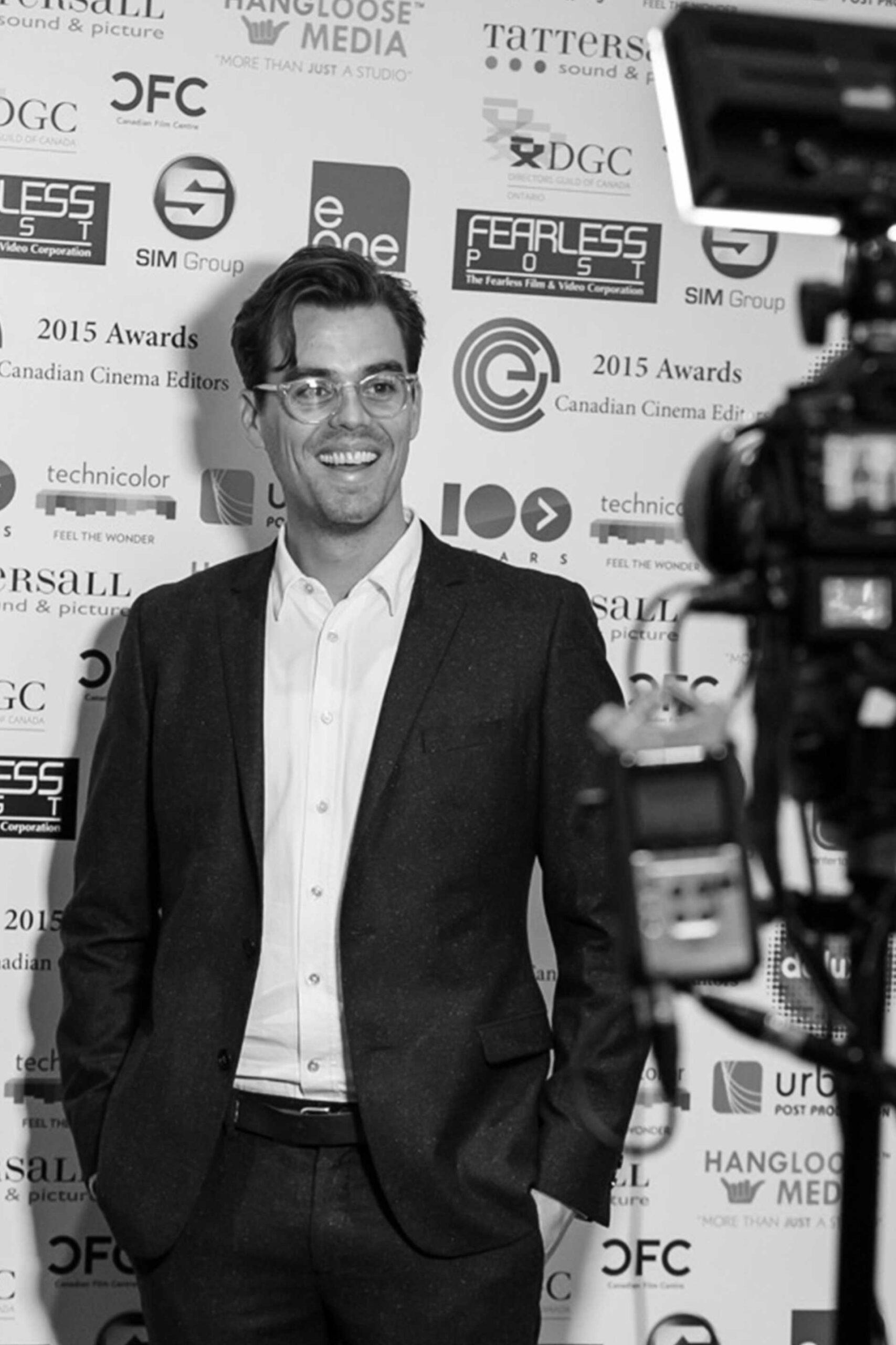 Awards Sponsorship Opportunity backdrop logos media and press