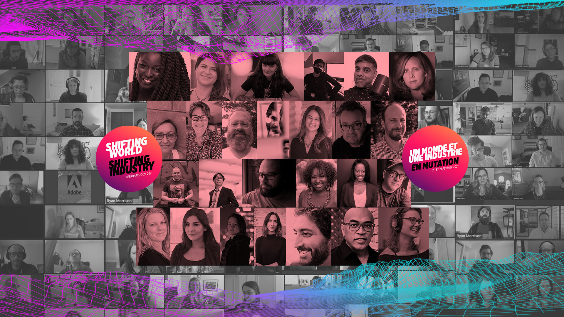 EditCon 2021 Collage