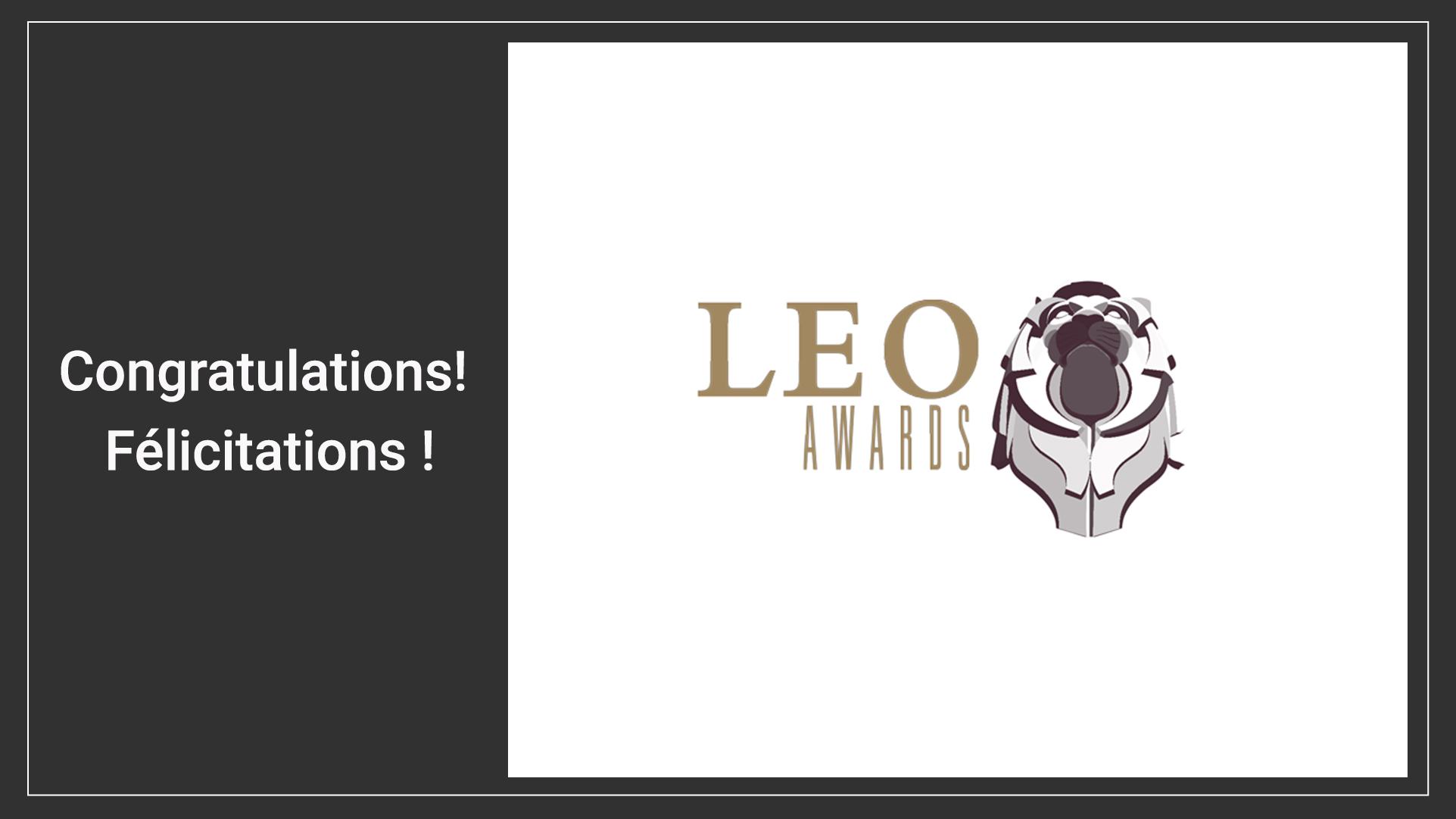 2021 Leo Awards Winner